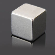 1PC N50 Rare Earth Magnet 10mm Cube Block Neodymium Super Strong Fridge