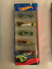 DOUBLE JUMP DUEL 2013 Hot Wheels 5-Pack Die-Cast Cars - Mint in Package