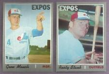 1970 Topps Montreal Expos Team Set