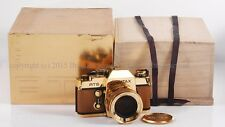 LNIB Contax Gold RTS camera w/50mm f/1.4 full set, 300 SET LIMITED