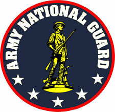 Framed US Military Insignia Print – Army National Guard (Army Navy USAF Picture)