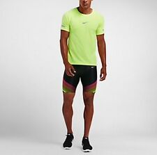 NIKE POWER  MEN'S HALF RUNNING TIGHTS SZ: L 822556-017 RETAIL$110.00