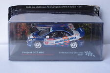 IXO ALTAYA PEUGEOT 307 WRC #2 CEVENNES 2007 1:43