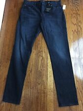 Brooklyn Calling NYC Mens Sz 34/34 Jeans Black Whiskered Skinny/Slim.  NWT.