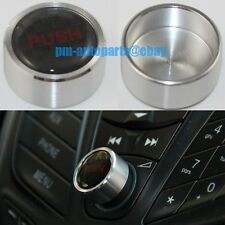 PM Silver Aluminum Dashboard Audio Switch Button for Kuga Escape Focus Ecosport