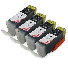 4 Black PGI-250XL PGI-250 BK Ink &Chip Lot For Canon iP8720 iX6820 IP7220 MG6620