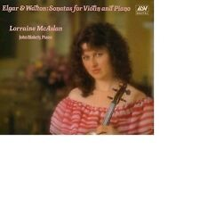 ELGAR/WALTON Violin Sonatas  for Violin and Piano Lorraine McAslan John Blakely