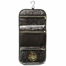 HARRY POTTER HOGWARTS CREST HANGING COSMETIC TRAVEL BAG W/REMOVEABLE PURSE