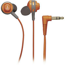 Audio-Technica ATH-COR150 Core Full Bass In-Ear Headphones Earbuds Orange
