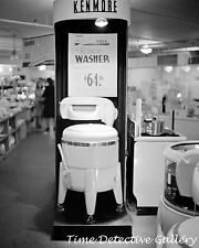 The Kenmore Wringer Washer in Sears Store, New York - 1941 Historic Photo Print