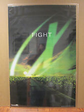 "vintage The X Files Tv series ""Fight"" poster 1998 6865"
