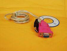 RS232 Serial DB9 pin female to USB 2.0 PL-2303 Cable for Window 7  Linux
