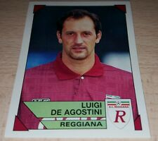 FIGURINA CALCIATORI PANINI 1993/94 REGGIANA DE AGOSTINI ALBUM 1994