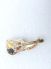 CLEVELAND gold dead Rocker Buddy Holly styled acoustic Guitar Collectors B20183