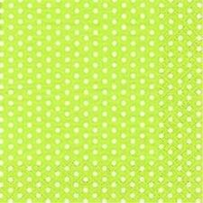 20Pcs Lime Green Polka Dot Paper Napkins Party Birthday Event Tableware