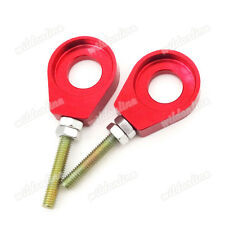 Red 15mm Alex Chain Adjuster Tensioner Fit Chinese Dirt Bike CRF50 SSR Thumpstar