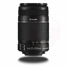 Canon EF-S 55-250mm f/4.0-5.6 IS II Lens T5i T4i T3i 60D 70D 80D With HOOD
