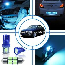 11x Aqua Ice Blue LED Interior Dome Map Light Package Kit For Lexus IS300 01-05