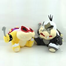 2X Super Mario Bros Koopalings Roy Morton Koopa Jr. Plush Soft Toy Bowser Kid 7""