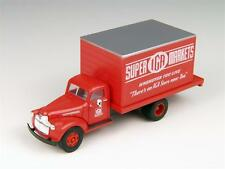"Mini Metals 1/87: 30334 41/46 Chevrolet Koffer-Lkw ""IGA Super Markets"""