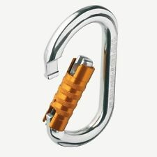 NEW Petzl OK TRIACT LOCK Oval auto locking carabiner M33 TL with FREE SHIPPING!