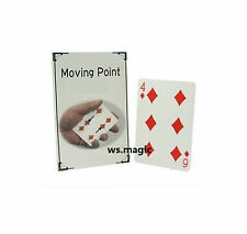 Moving Point Pips 4 To 6 Cyril Magic Trick Close Up Street Card WOW FISM T11 D&D