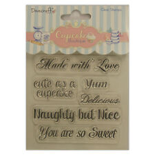SENTIMENTS - NAUGHTY - CUPCAKE BOUTIQUE - CLEAR STAMP SET