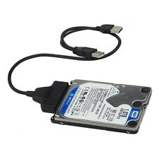 USB3.0+2.0 to SATA 22Pin Cable for 2.5inch HDD Hard Drive Solid State Drive QT