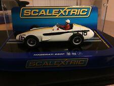 Scalextric EE. UU. versión en caja C3403 Maserati 250F Jo Bonnier #16, Pescara GP 1957