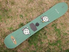Vintage 1995 BURTON AIR 150 SNOWBOARD 1995 Freestyle  + SHIMANO Clicker Bindings