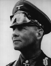 WWII B&W Photo General Erwin Rommel Photo  WW2 / 2021