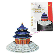 3D Puzzle Chinese Temple of Heaven Architecture Intellect Building Toy Education