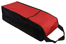 RED STORAGE CARRY BAG with HANDLE FOR LEVELLING RAMPS caravan motorhome MEDIUM