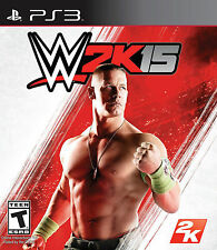 WWE 2K15 WWE2K15 PS3 Game (PRE OWNED) (USED) Excellent Condition