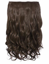"""NEW WOMENS CURLY CLIP IN 1 PIECE SET WEFT HAIR EXTENSIONS KOKO UK STOCK 20"""""""
