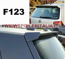 SPOILER ALETTONE GOLF IV  4 GREZZO F123GK  SI123-3-PROV