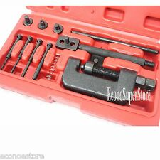 ATV Bike Motorcycle Cam Drive Chain Breaker Riveter Rivet Riveting Cutter Tool