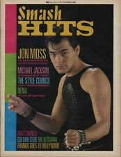 Jon Moss on Smash Hits Cover 1 March 1984 Nena Michael Jackson The Style Council