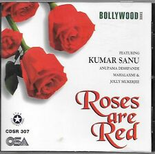 ROSES ARE RED  (KUMAR SANU) BRAND NEW MIX SONGS CD  - FREE UK POST
