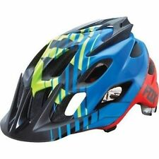 Fox Flux Savant Mountain Bike Cycling Helmet Blue Size L/XL New