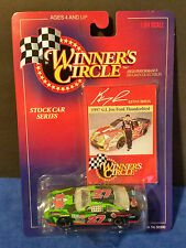 Winners Circle Kenny Irwin 1997 G.I.Joe Ford Thunderbird #27 1:64 scale