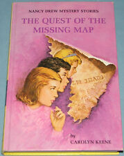 Nancy Drew #19 Quest of the Missing Map Intro 1969 Text/Art