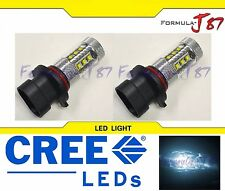 CREE LED 80W 9006XS HB4A WHITE 6000K TWO BULB HEAD LIGHT LOW BEAM REPLACEMENT K