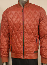 ENERGIE Men's Jacket Quilted Bomber Down Lightweight size L Large