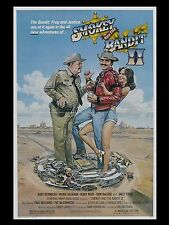 "Smokey and the Bandit 2 16"" x 12"" Reproduction Movie Poster Photograph"