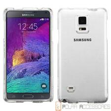Clear Hard Shell Case Cover For SAMSUNG Galaxy Note 4