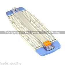 Imported Jielisi A4 guillotine Paper Cutter Trimmer White-Blue