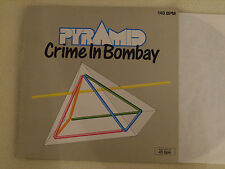 "PYRAMID - Crime in Bombay / Meutre a Bombay 3 Track 12"" Maxi Metronome 1986 NM"