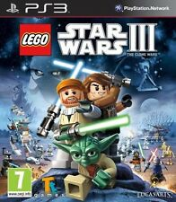LEGO STAR WARS III 3 THE CLONE WARS PS3 BRAND NEW