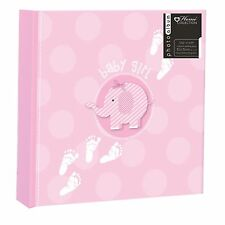 "Photo Album ""Baby Girl"" Elephant Design - 200 Photos 4 x 6"